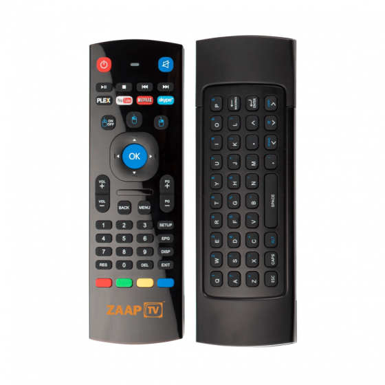 Afstandsbediening ZaapTV Air Mouse A2